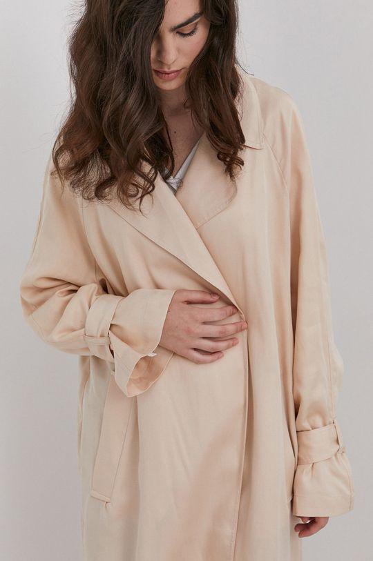 beżowy Answear Lab - Płaszcz