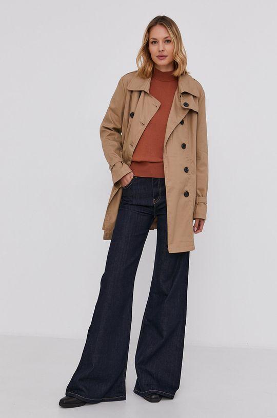Answear Lab - Trench kabát béžová