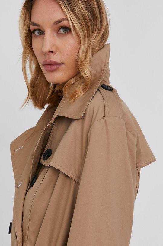 béžová Answear Lab - Trench kabát