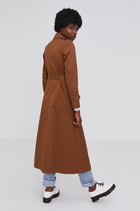 Answear Lab - Trench kabát  45% Bavlna, 55% Polyester