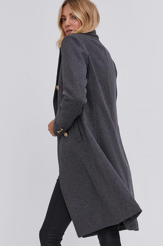 Answear Lab - Płaszcz z domieszką wełny 70 % Poliester, 30 % Wełna