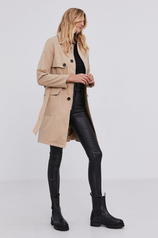 Answear Lab - Płaszcz beżowy
