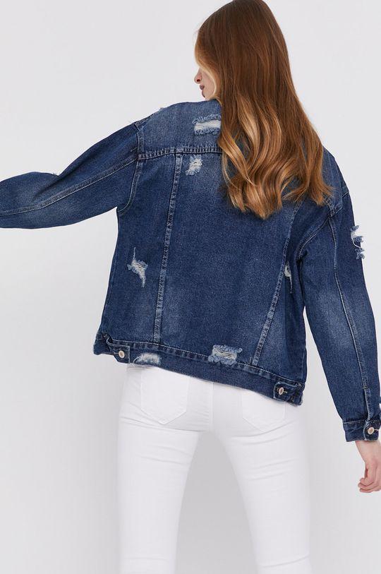 Answear Lab - Kurtka jeansowa 98 % Bawełna, 2 % Elastan