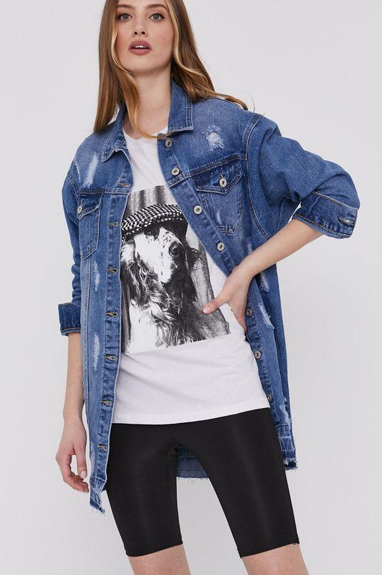 Answear Lab - Kurtka jeansowa 80 % Bawełna, 11 % Poliester, 9 % Wiskoza