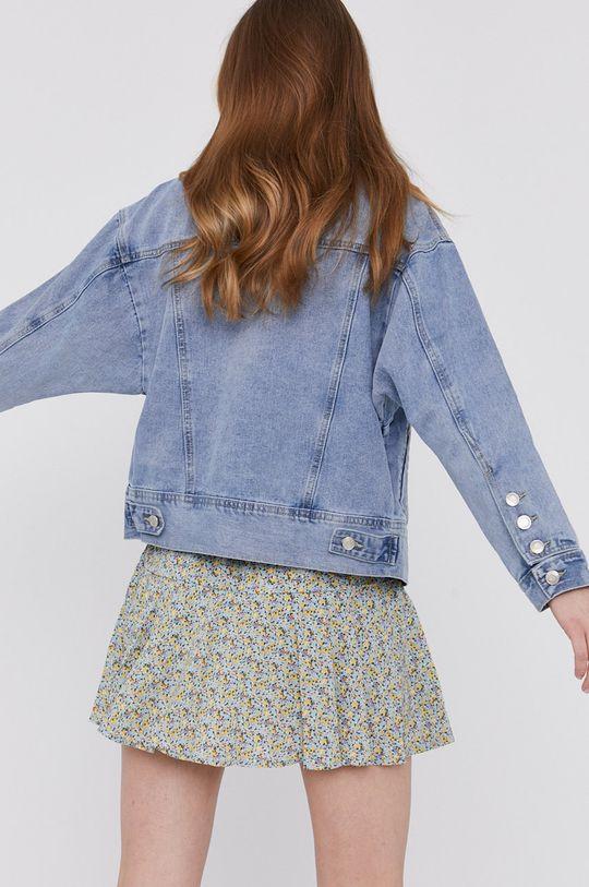 Answear Lab - Džínová bunda  80% Bavlna, 11% Polyester, 9% Viskóza