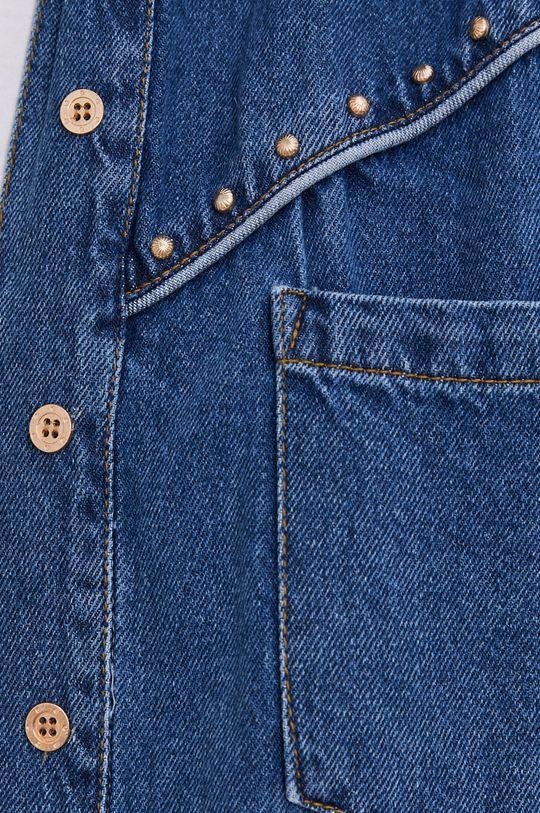 Answear Lab - Koszula jeansowa niebieski