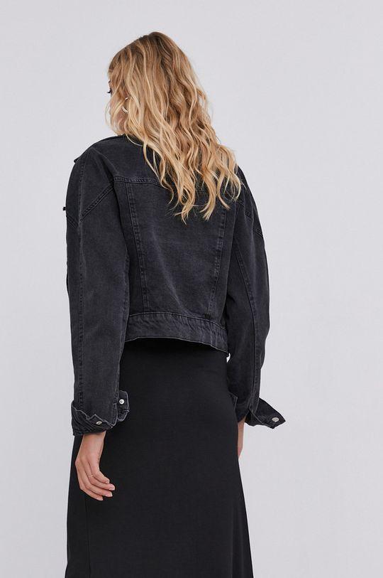 answear.LAB X Limitovaná kolekcia GIRL POWER - Rifľová bunda  100% Bavlna