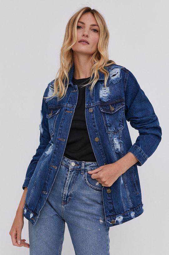 Answear Lab - Džínová bunda modrá
