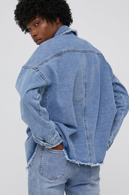 Kurtka jeansowa answear.LAB X kolekcja limitowana GIRL POWER 100 % Bawełna