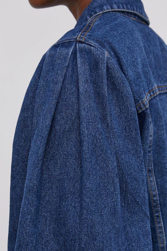 Answear Lab - Bavlněná džínová bunda Dámský
