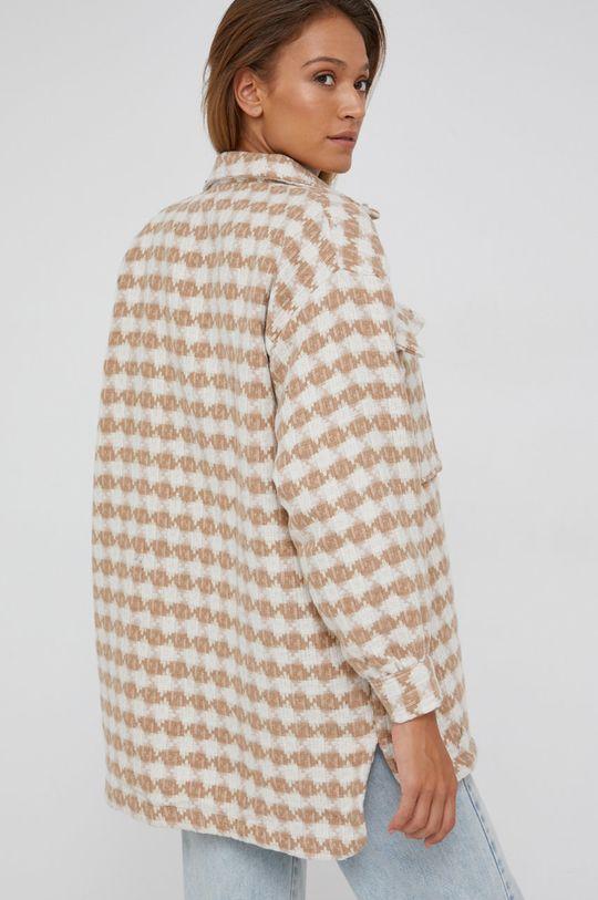 Answear Lab - Košile se směsi vlny  80% Akryl, 20% Vlna
