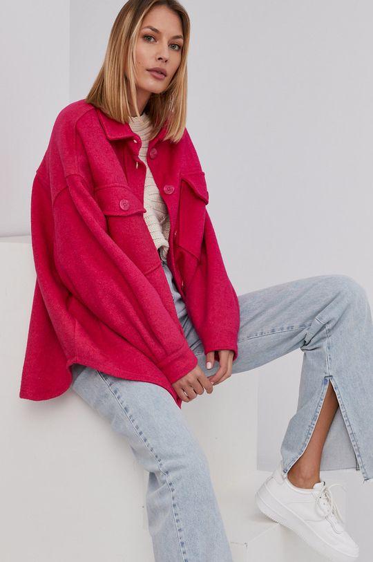 ružová Answear Lab - Bunda