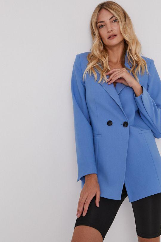 niebieski Answear Lab - Marynarka Damski