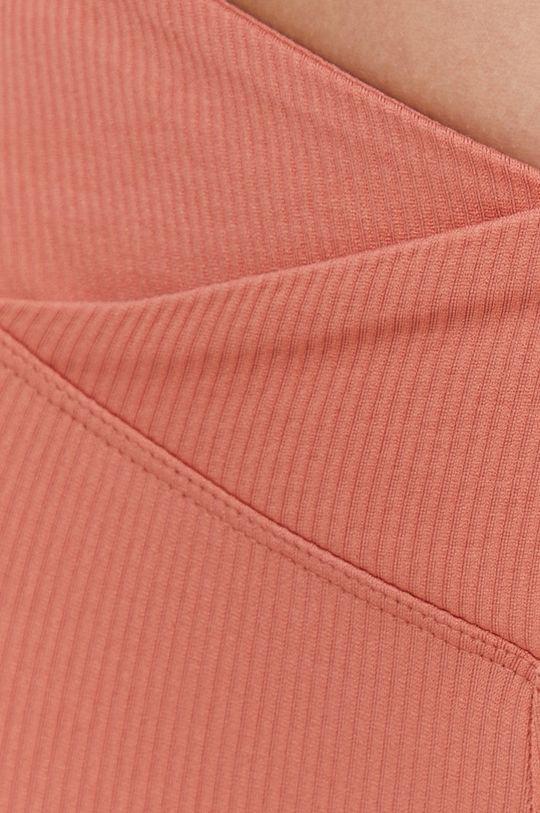 różowy Answear Lab - Legginsy