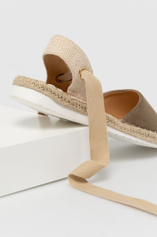 Answear Lab - Espadrilky Moda Plus  Svršek: Textilní materiál Vnitřek: Umělá hmota Podrážka: Umělá hmota
