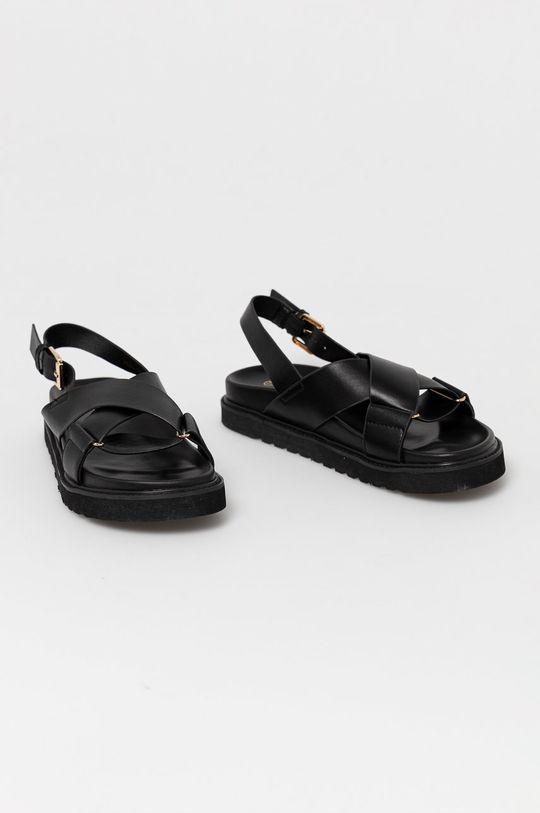 Answear Lab - Sandále Alta Moda čierna
