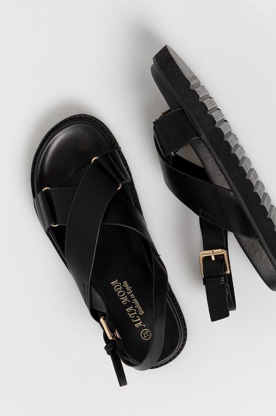 čierna Answear Lab - Sandále Alta Moda