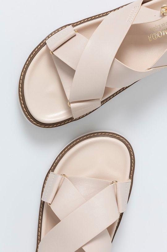 béžová Answear Lab - Sandále Alta Moda