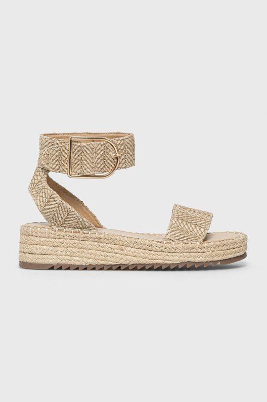 béžová Answear Lab - Sandále Alta Moda Dámsky