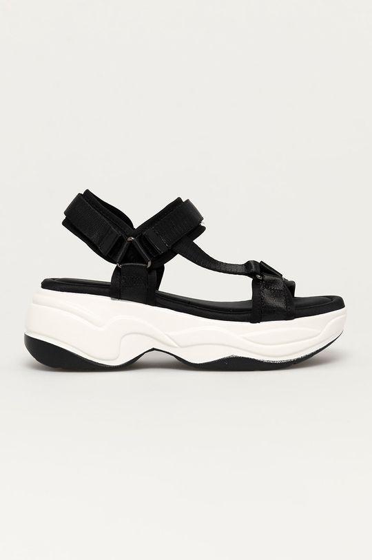 černá Answear Lab - Sandály Alta Moda Dámský