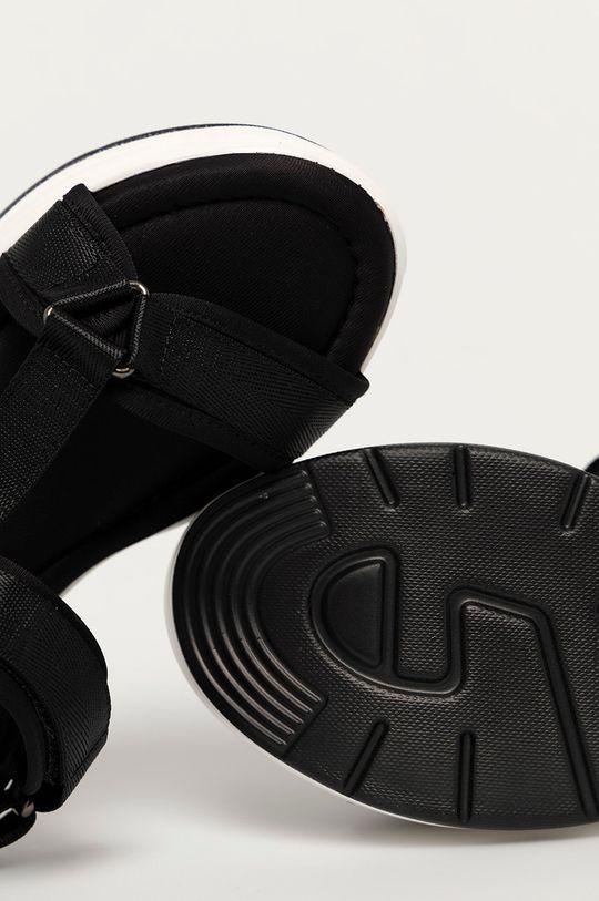 černá Answear Lab - Sandály Alta Moda