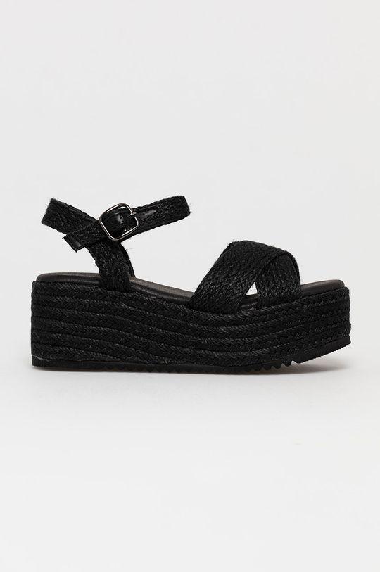 czarny Answear Lab - Sandały Alta Moda Damski