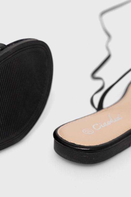 czarny Answear Lab - Sandały Ciaodea