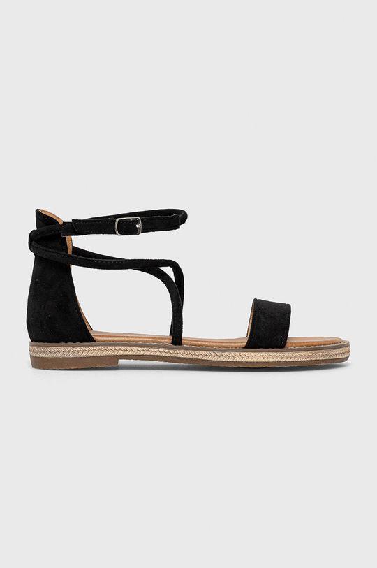 čierna Answear Lab - Sandále Prisska Dámsky