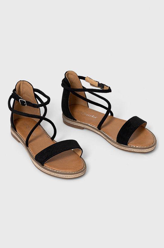 Answear Lab - Sandále Prisska čierna
