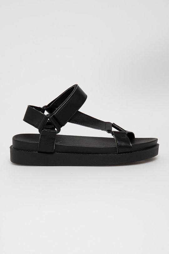 czarny Answear Lab - Sandały Fama Damski