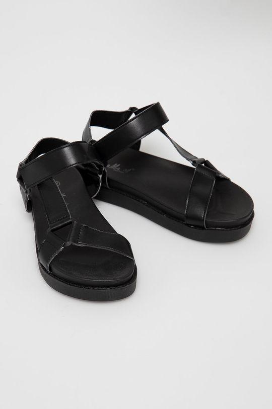 Answear Lab - Sandały Fama czarny