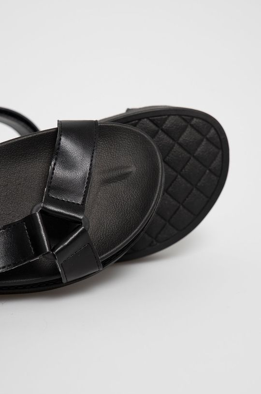 czarny Answear Lab - Sandały Fama