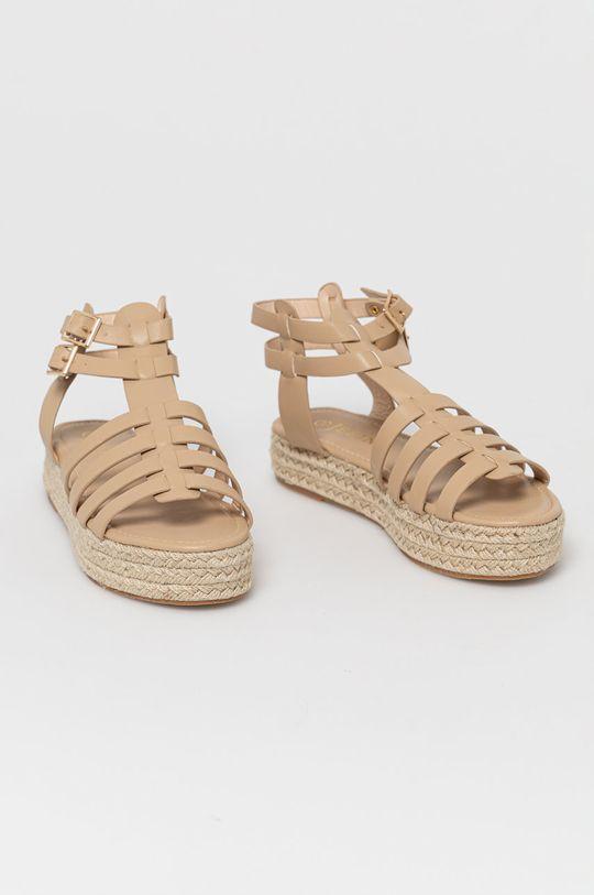 Answear Lab - Sandále Jeeini béžová