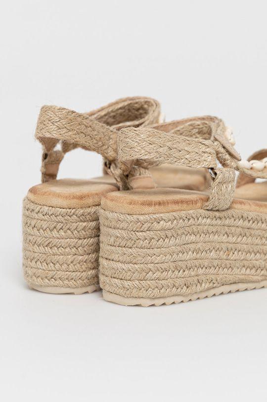 Answear Lab - Sandały Buonarotti Cholewka: Materiał tekstylny, Wnętrze: Materiał tekstylny, Podeszwa: Materiał syntetyczny