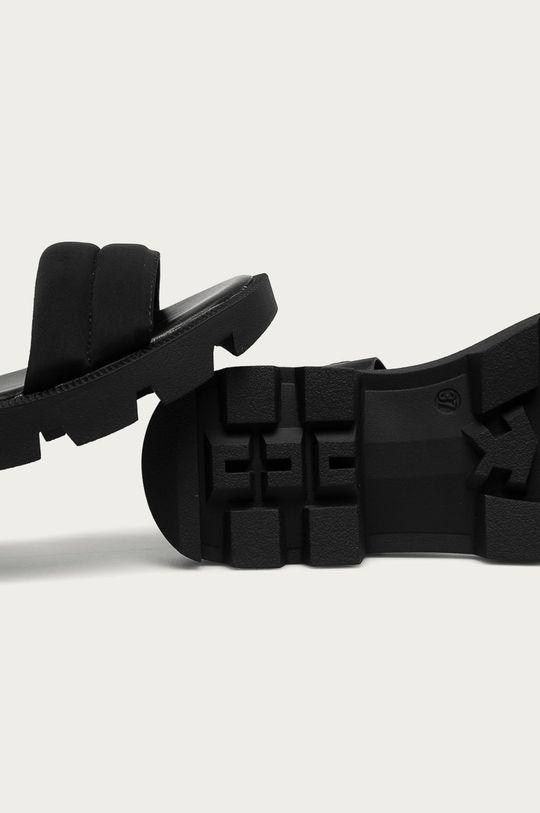 čierna Answear Lab - Sandále Buonarotti