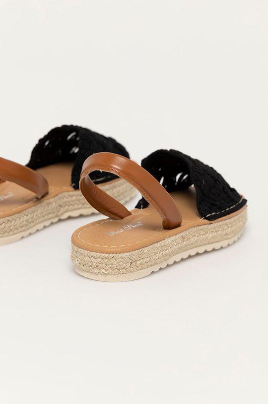 Answear Lab - Sandály Best Shoes  Svršek: Umělá hmota, Textilní materiál Vnitřek: Umělá hmota, Textilní materiál Podrážka: Umělá hmota