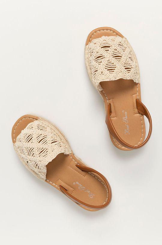 beżowy Answear Lab - Sandały Best Shoes