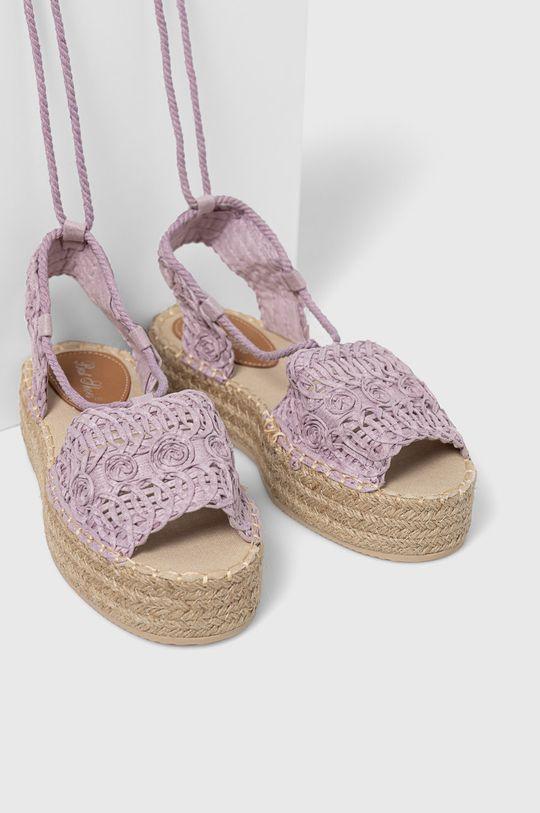 Answear Lab - Sandále Best Shoes levanduľová