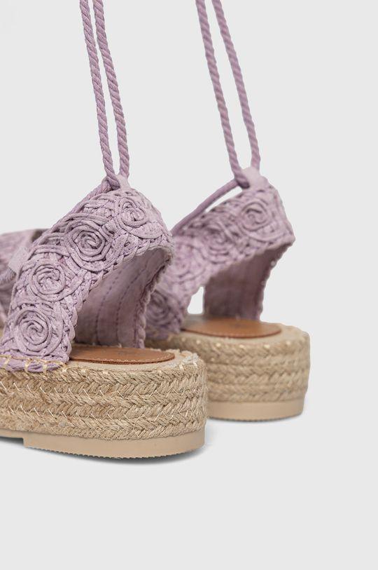 Answear Lab - Sandále Best Shoes  Zvršok: Textil Vnútro: Syntetická látka, Textil Podrážka: Syntetická látka