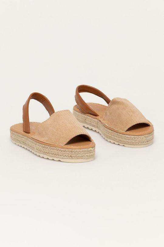 Answear Lab - Sandály Best Shoes béžová