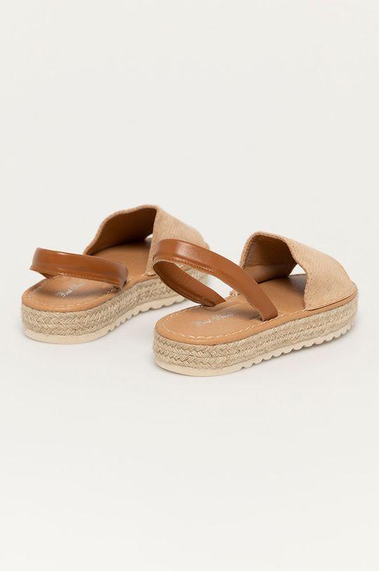 Answear Lab - Sandály Best Shoes  Svršek: Umělá hmota, Textilní materiál Vnitřek: Umělá hmota Podrážka: Umělá hmota