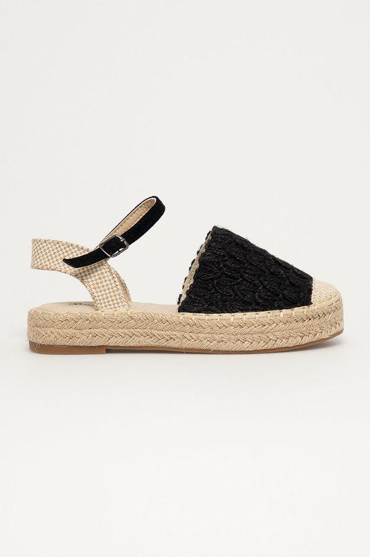 čierna Answear Lab - Espadrilky Best Shoes Dámsky