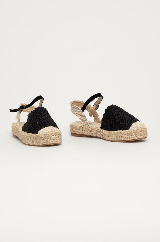 Answear Lab - Espadrilky Best Shoes čierna