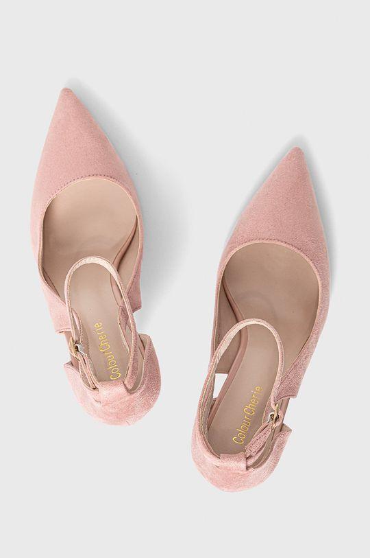 różowy Answear Lab - Szpilki Colour Cherie