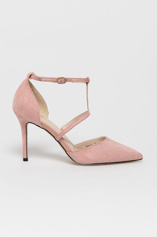 różowy Answear Lab - Szpilki Colour Cherie Damski
