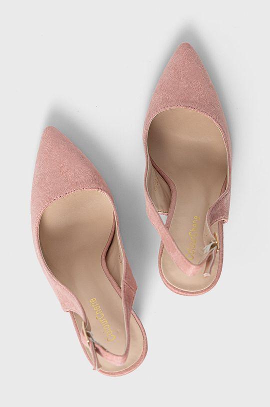 różowy Answear Lab - Czółenka Colour Cherie