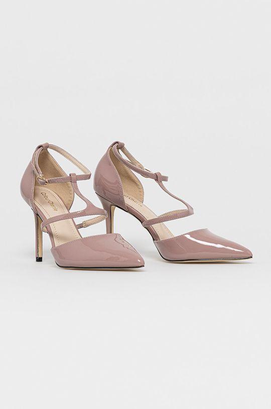 Answear Lab - Pantofi cu toc Colour Cherie roz