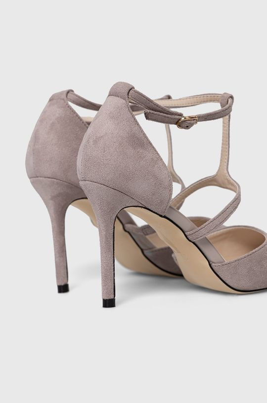 Answear Lab - Pantofi cu toc Colour Cherie  Gamba: Material textil Interiorul: Material sintetic Talpa: Material sintetic