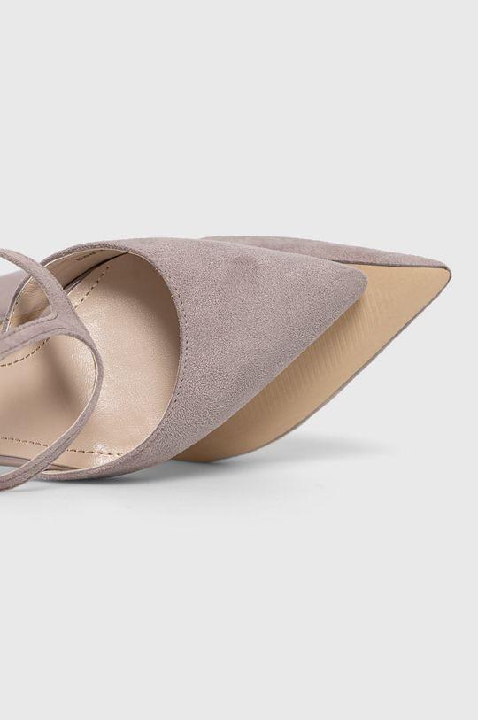 gri Answear Lab - Pantofi cu toc Colour Cherie