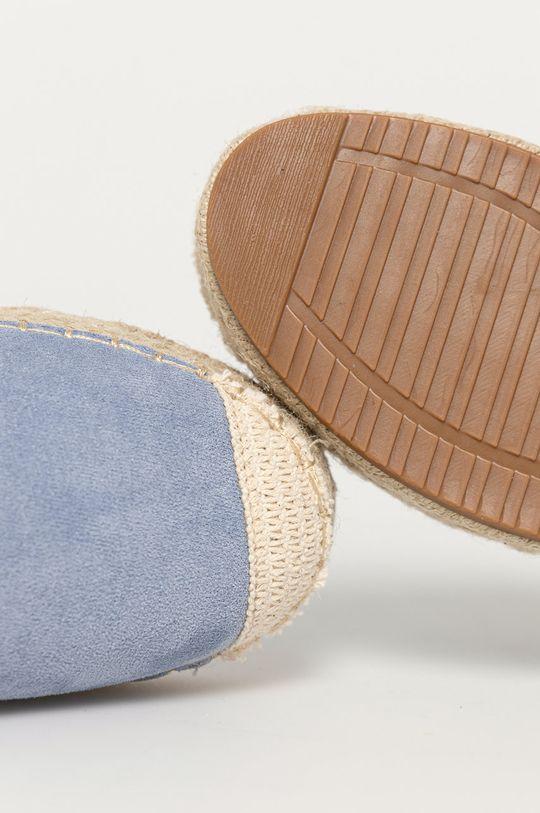 modrá Answear Lab - Espadrilky Sun Color